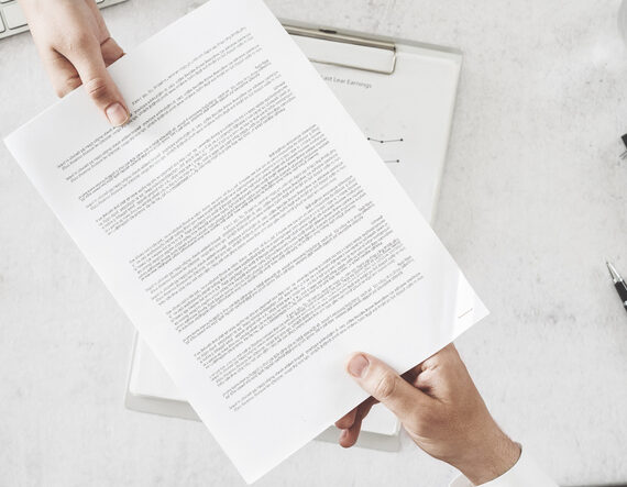 The Quality of a Business Contract Affects the Probability of Litigation